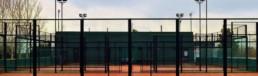 Alquiler de pistas de pádel - Paddle tennis courts rental - Hotel Mas Passamaner