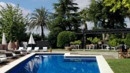 Restaurante de la piscina. Mas Passamaner (1)