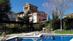Restaurante de la piscina. Mas Passamaner (2)