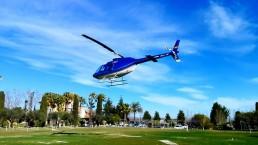 Helicóptero en Helipuerto Mass Passamaner