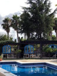 Restaurante de la piscina. Mas Passamaner